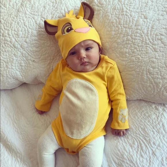 6a634639c5213 Disney Costumes | Lion King Onesie And Hat 03 Months | Poshmark